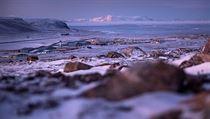 Pohled na grónské letiště.