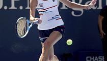 Karolína Plíšková v zápase 3. kola na US Open.