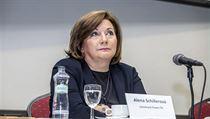 Alena Schillerova - ministryně financí za ANO.