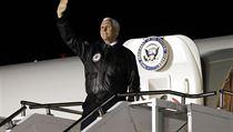Viceprezident Mike Pence.