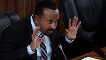 Etiopskı premiér Abiy Ahmed.