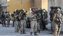 Turečtí vojáci v Sırii