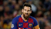 Zklamanı Lionel Messi.