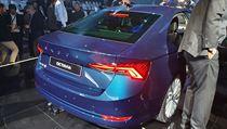 Škoda Octavia 4. generace při světové premiéře ve Veletržním paláci v Praze