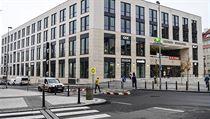 Ve Veletržní ulici v Praze 7 otevřeli 21. listopadu 2019 obchodní Centrum...