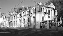 V katastru pražského Vyšehradu: Chocholův trojdům na vltavském Rašínově nábřeží...