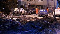 Při páteční explozi plynu v bytovém domě v Prešově na Slovensku zemřelo 5 lidí.
