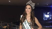 Česká zástupkyně Denisa Spergerová se do finálového vıběru Miss World 2019...