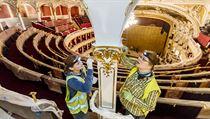 Rekonstrukce opery trvala skoro 3 roky.