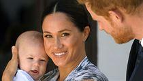 Princ Harry s manželkou Meghan a synem Archiem letos Vánoce slaví mimo Británii.