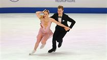 Natálie a Filip Taschlerovi na mistrovství Evropy