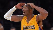 Legenda Los Angeles Lakers Kobe Bryant.