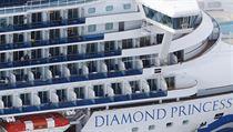 Vıletní loď Diamond Princess.