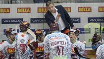 Utkání 44. kola hokejové extraligy: HC Sparta Praha - Mountfield Hradec...