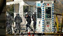 """""""Vláda udělá cokoli, aby hranice ubránila,"""" uvedl mluvčí řecké vlády Stelios..."""