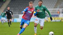 Utkání 23. kola první fotbalové ligy:FK Jablonec - Viktoria Plzeň