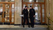 V sídle ministerstva práce a sociálních věcí (MPSV) v Praze zasahovali...