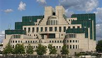 Londınské sídlo britské tajné služby MI5 (kontrarozvědka).