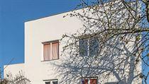 Müllerův dům po rekonstrukci. Zahradní průčelí