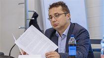 Pavel Matocha na zasedání nové Rady ČT