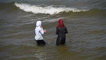 V Německu začaly letní prázdniny, lidé hned vyrazili k moři.