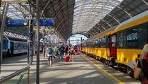 Společnost Regiojet vypravila první vlak mířící do Chorvatska.