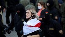 Další zatıkání v Běloruském Minsku.