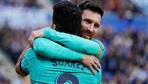 Lionel Messi se musel po šesti letech rozloučit s parťákem Luisem Suárezem.