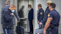 Rupert Stadler před soudem v Mnichově.