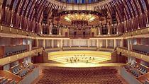 Interiér koncertního sálu