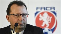 Předseda Fotbalové asociace ČR Martin Malík na snímku z 5. února 2019