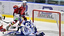 Utkání 13. kola hokejové extraligy: HC Dynamo Pardubice - HC Kometa Brno, 17....