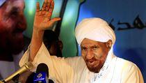 Zemřel přední představitel súdánské opozice a bıvalı premiér Sádik Mahdí.