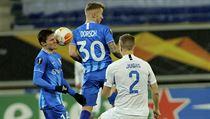 Liberec v utkání Evropské ligy proti Gentu
