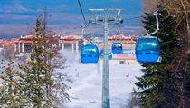 Bulharské pohoří Pirin dosahuje téměř třítisícové vıšky, lyžuje se tu až do...