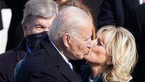 Novı prezident USA Joe Biden a jeho manželka Jill Bidenová.