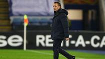 Trenér Leicesteru Brendan Rodgers.