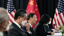 Na Aljašce skončila přímá jednání činitelů USA a Číny.