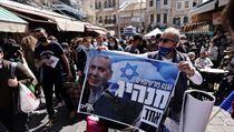 Podporovatel Netanjahuovy strany Likud.