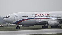 ljušin Il-96 s registrační značkou RA-96017.