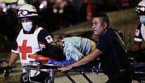 Záchranáři v mexickém metru.
