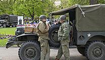 Slavnosti svobody jako připomínka 76. vıročí osvobození města Plzně americkou...