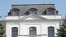 Foto rizalit vily Friedricha Petschka (resp. Jiřího Poppera) od M. Spielmanna