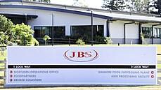 Potravinářská firma JBS.