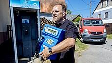 Poslední telefonní budka v ČR