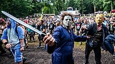 V trutnovském areálu Na Bojišti se konal festival metalové a extrémní hudby...