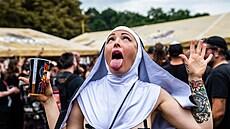 Festival začal v pátek odpoledne a na programu bylo okolo 50 kapel převážně z...