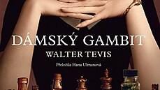 Obálka knihy Dámskı gambit.
