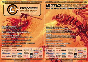Comics salón Istrocon 2007