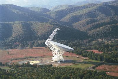 Green Bank 100m diameter Radio Telescope